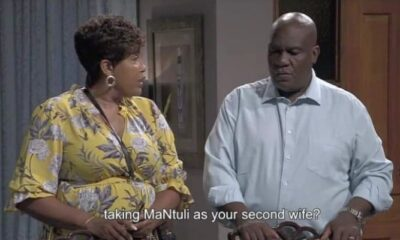 Tonight on Skeem Saam,Joyce Lets The Cat Out Of The Bag About John Taking A Second Wife
